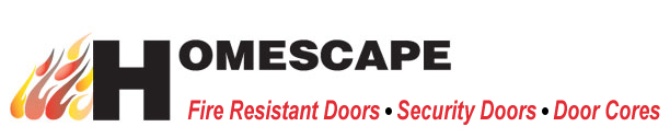 Homescape, fire resistant doors, security doors, sheet materials